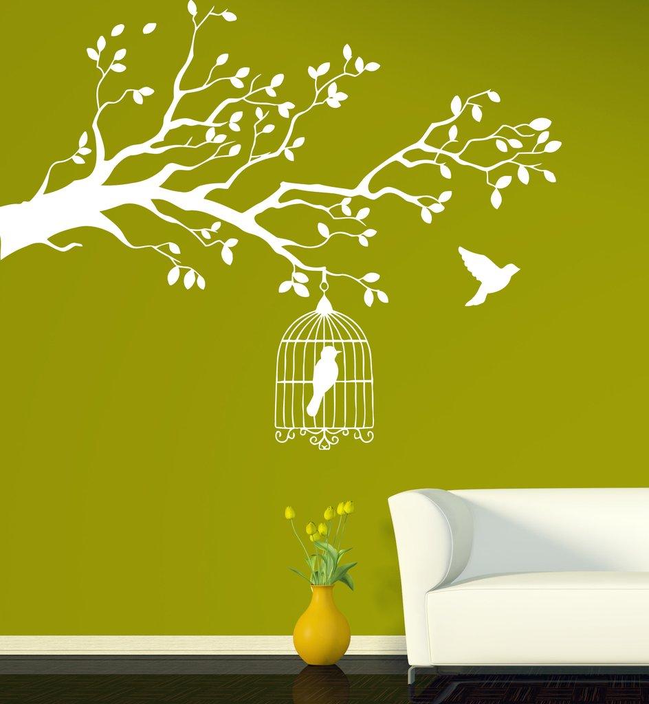 этом картинки наклейки на стены трава и деревья нягани
